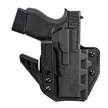 COMP-TAC eV2 Hybrid Appendix Glock 26 AIWB Hybrid Holster (C852GL262RBKN)