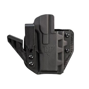 COMP-TAC eV2 Max Hybrid Appendix IWB Smith & Wesson M&P Shield .380 EZ Right Black Holster (C852SW250RBKN)