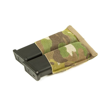 BLUE FORCE Ten-Speed Double Pistol Multicam Mag Pouch (HW-TSP-PISTOL-2-MC)