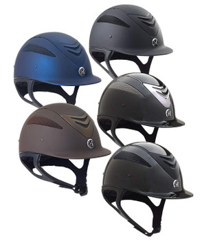ONE K Defender Black Helmet (468259BKGLS)
