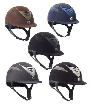 ONE K Defender Suede Black Helmet (468260BLK)