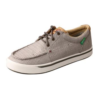 TWISTED X Hooey Loper Light Grey Shoe (MHYC018)