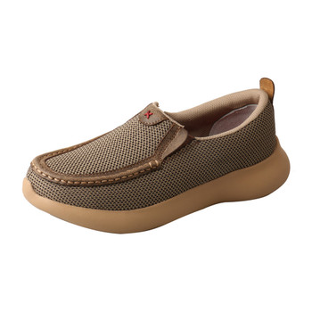 TWISTED X Womens Slip-On Eva12R Olive Shoe (WRV0006)