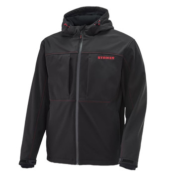 STRIKER ICE Mens Rival Hooded Softshell Jacket (61490)