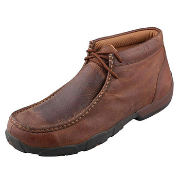 TWISTED X Mens Driving Copper Moccasins (MDM0014)
