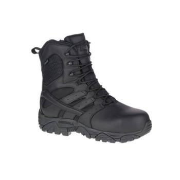 MERRELL Men's Moab 2 8in Black Tactical Response Waterproof Work Boot (J17555)
