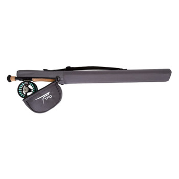 TEMPLE FORK OUTFITTERS NXT Black Label Kit 8 wt 9ft Fly Rod (TF-08-90-4-NXT-BLK-K)
