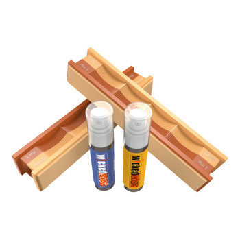 WICKED EDGE 1/0.5 Micron Diamond Emulsion And Leather Strops Pack (WE010.5PDE)