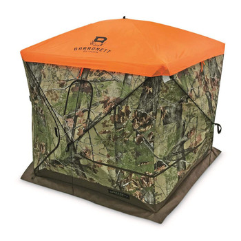 BARRONETT 4-Sided Blind Blaze Orange Cap (AV180)