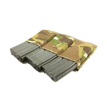 BLUE FORCE Ten-Speed Triple M4 Multicam Mag Pouch (HW-TSP-M4-3-MC)
