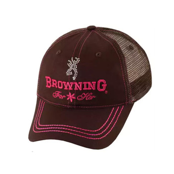 BROWNING Jeweled Brown Mesh Back Cap (308355881)