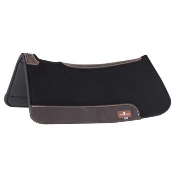 CLASSIC EQUINE ContourPedic Black Saddle Pad (COP100CB)