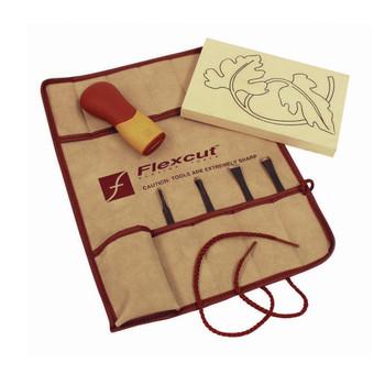 FLEXCUT 5-Piece Craft Carver Set (SK106)
