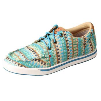 TWISTED X Women's Low-Cut Blue Mirage Casual Shoe (WCA0027)
