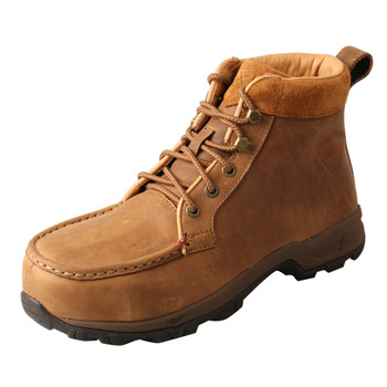TWISTED X Women's Work 6in Alloy Toe Tan WP Hiker Boot (WHKA001)