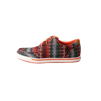 TWISTED X Womens Hooey Loper Aztec Print Shoes (WHYC013)