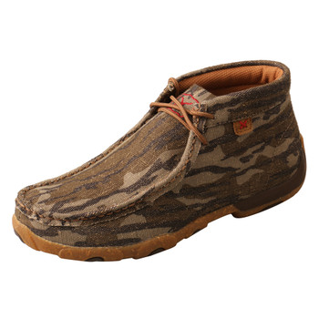 TWISTED X Women's Mossy Oak Camo Chukka Driving Moc (WDM0135)