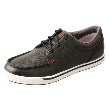 TWISTED X Women's Low-Cut Softy Black Casual Shoe (WCA0025)