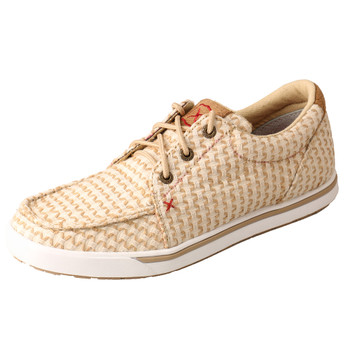TWISTED X Women's Low-Cut Sand Shell Tweed Casual Shoe (WCA0028)
