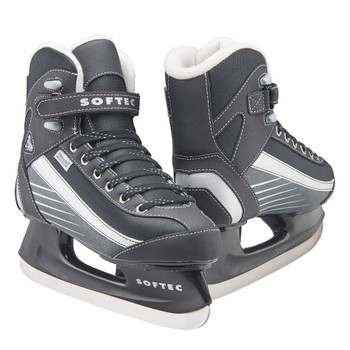 JACKSON ULTIMA Mens Softec Sport Black Ice Skates (ST6102-BK)