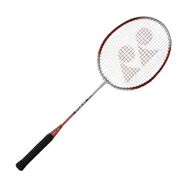 YONEX B-350 Strung Orange/Silver/Blue U G4 Badminton Racket (B350S)