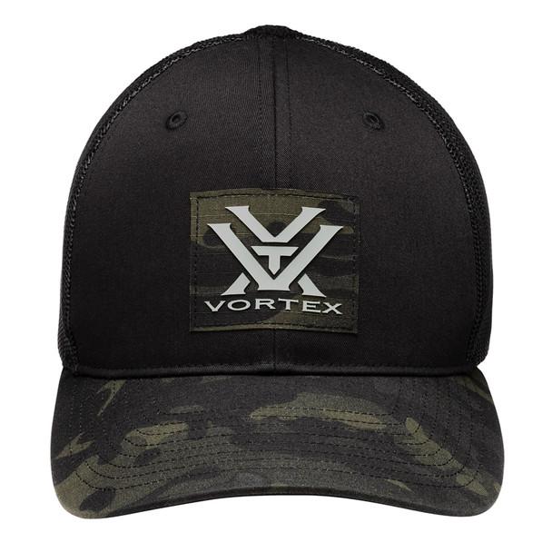 VORTEX Mens Pathbreaker Grey/Black Multicam Cap (120-62-BCA)