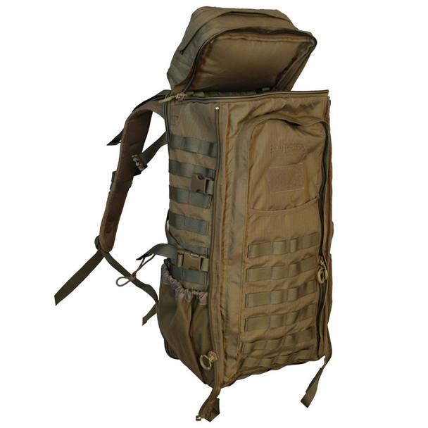 EBERLESTOCK LittleBrother Coyote Brown Backpack (G1MC)