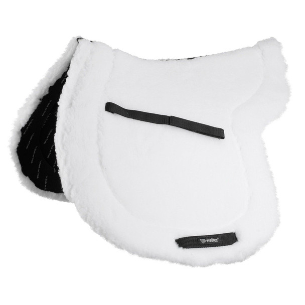 BACK ON TRACK Teddy White Saddle Pad (23320203)
