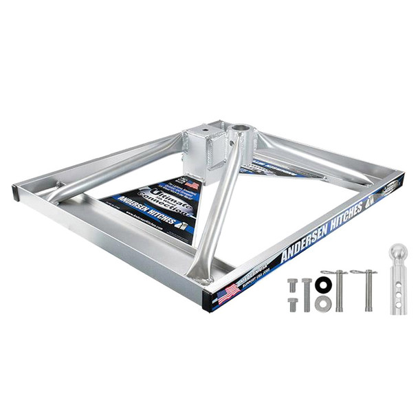 ANDERSEN Aluminum Ultimate 5th Wheel Connection Base with Hardware (3240)