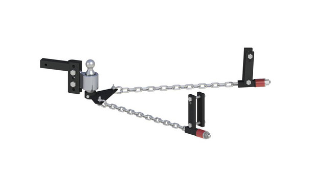 ANDERSEN No-Sway Weight Distribution Hitch 4in Drop/Rise, 2-5/16in Ball, 4-3/8in Brackets (3344)