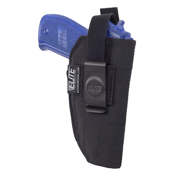ELITE SURVIVAL SYSTEMS Inside The Waistband Clip IWB Full Size Glock/Sig Sauer Holster (BCH-5)