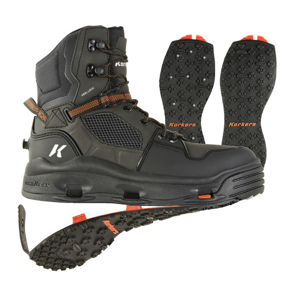 KORKERS Terror Ridge Kling-On And Studded Kling-On Soles Brown Olive/Rust Boot (FB5220)