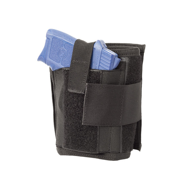 ELITE SURVIVAL SYSTEMS Hide-Away Black Ankle Wallet with Holster (HSWH)