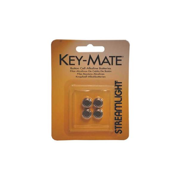 STREAMLIGHT Key-Mate Flashlight Batteries 4 Pack (72030)