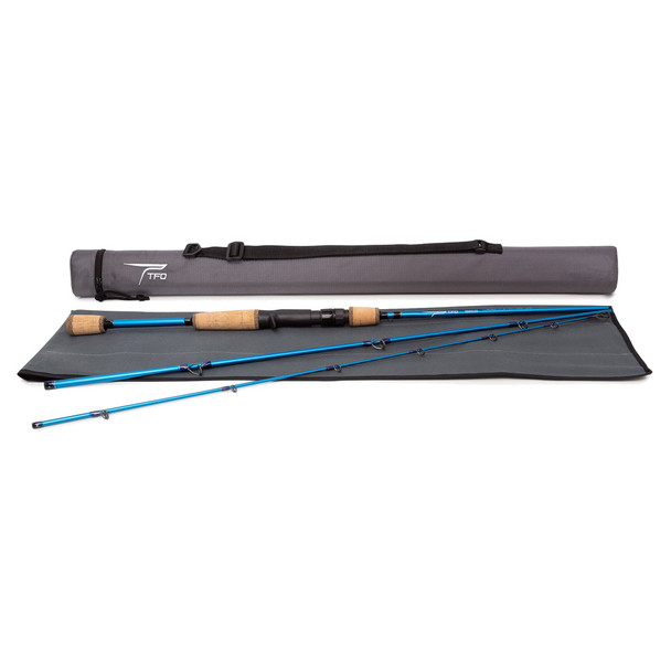 TEMPLE FORK OUTFITTERS Traveler 7ft M 3pc Casting Rod (TAC-TRC-704-3)