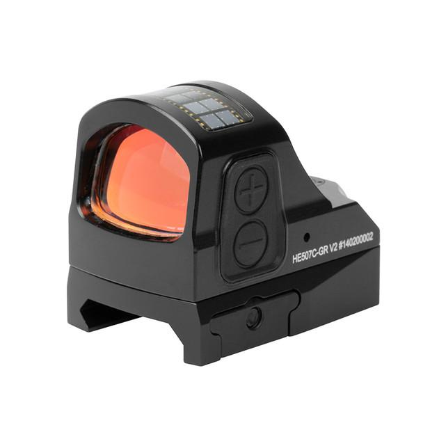 HOLOSUN HE507C 2 MOA Green Dot Reflex Sight (HE507C-GR-X2)