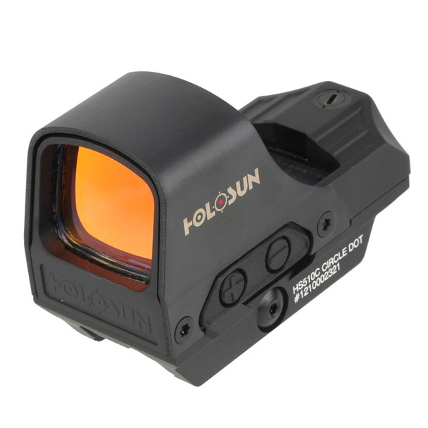 HOLOSUN Open Reflex Multi-Reticle System Red Dot Sight (HS510C)