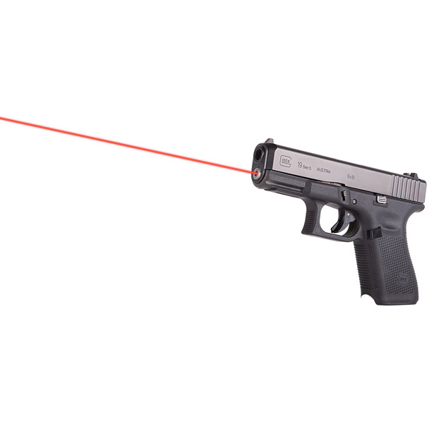 LASERMAX Red Guide Rod Laser Sight for Glock (LMS-G5-19)