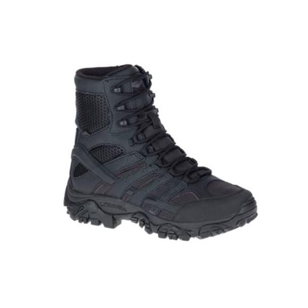 MERRELL Womens Moab 2 8in Black Tactical Waterproof Boot (J17720)