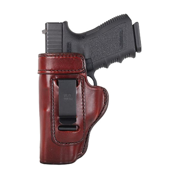 DON HUME Clip On H715-M Left Hand 1911 Government Brown Holster (J168001L)