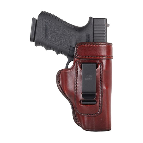 DON HUME Clip On H715-M Right Hand Brown Holster Fits Glock 29/30 (J168111R)