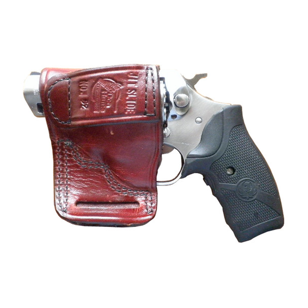DON HUME JIT Slide Right Hand Ruger SP101 Brown Holster (J983800R)