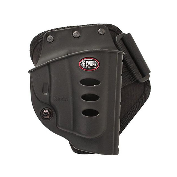 FOBUS Ruger LCR & SP101 Right Hand Ankle Holster (RU101A)