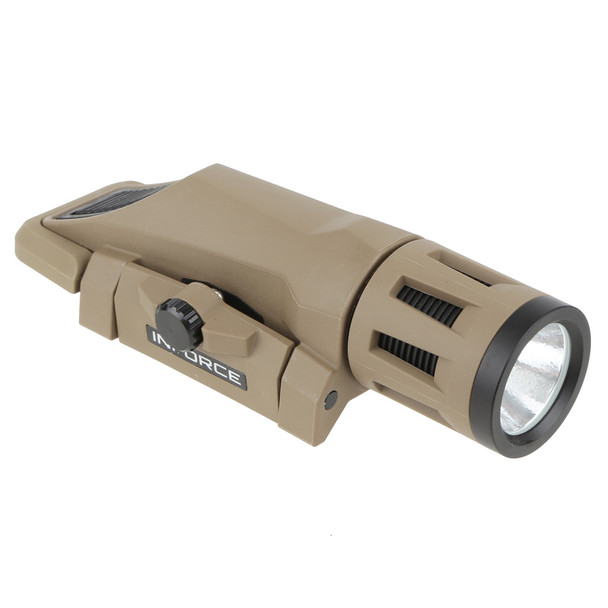 INFORCE WML White/IR Gen2 Flat Dark Earth Light (W-06-2)