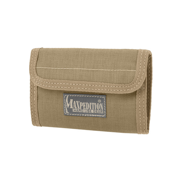 MAXPEDITION Spartan Wallet, Khaki (0229K)