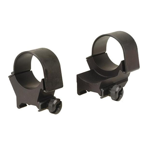 WEAVER 30mm Extended Matte High Scope Rings (49152)