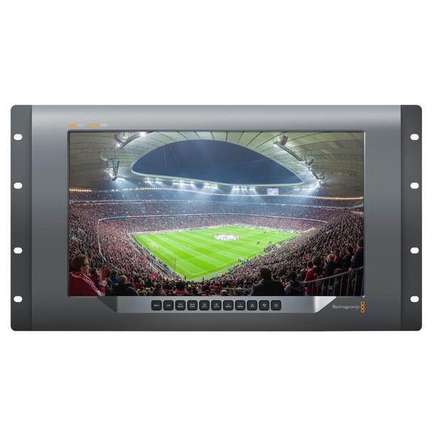 BLACKMAGIC 15.6in SmartView 4K 12G-SDI Rackmount Ultra-HD Monitor (HDL-SMTV4K12G2)