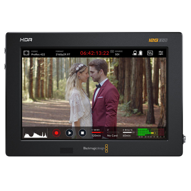 BLACKMAGIC DESIGN Blackmagic Video Assist 7in 12G HDR Recording Monitor (HYPERD/AVIDA12/7HDR)