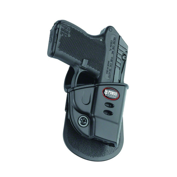 FOBUS Ruger LCP,Kel-Tec P-3AT Right Hand Evolution Paddle Holster (KT2G)