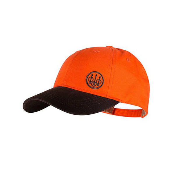BERETTA Trident Upland Tabacco/Blaze Orange Hat (BC541T15160850)